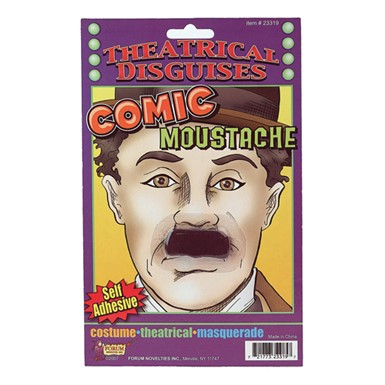 Charlie Chaplin Moustache Halloween Costume Accessory