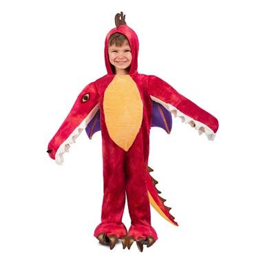 child chompin red dragon halloween costume