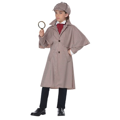 Child Famous Detective Sherlock Homes Costume