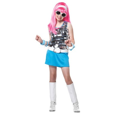 Child Go Go Girl Halloween Costume