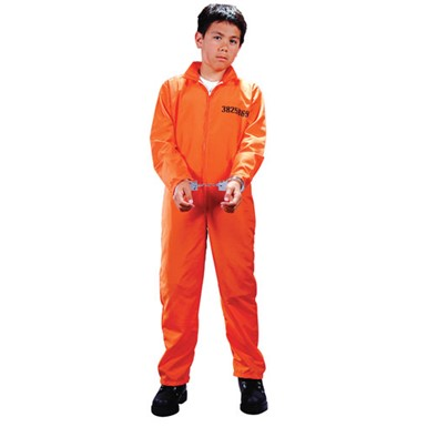Child Got Busted Prisoner Convict Halloween Costume