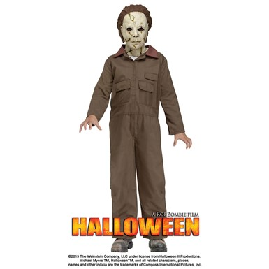 Child Halloween Deluxe Michael Myers Costume