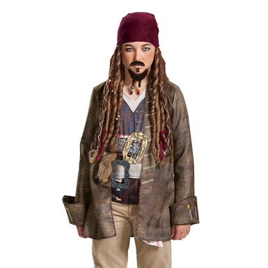 Child Jack Sparrow Goatee & Mustache Accessory