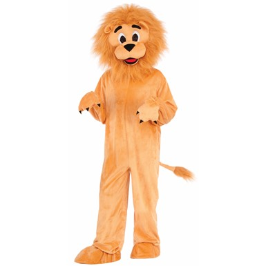 Child Lion Mascot Halloween Costume  sc 1 st  Costume Kingdom & Kids Lion Costume u2013 Child Mascot Lion Halloween Costume