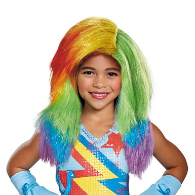 Child My Little Pony Movie Rainbow Dash Wig