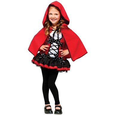 Child Sweet Red Hood Storybook Halloween Costume