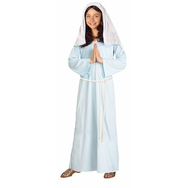 Childrens Biblical Mary Halloween Costume