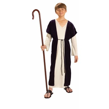Childrens Biblical Shepherd Nativity Costume