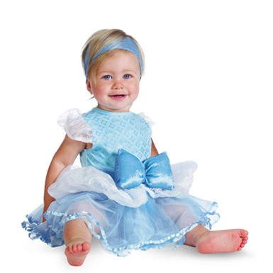 Cinderella Infant Girls Disney Princess Baby Costume