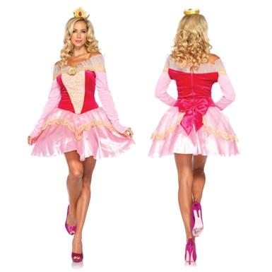 classic disney princess aurora womens halloween costume