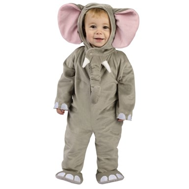 Cuddly Elephant Infant/ Toddler Halloween Costume