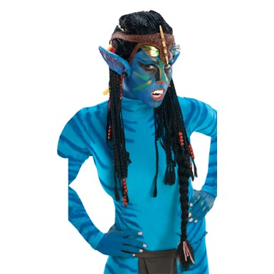 Deluxe Avatar Neytiri Wig With Ears Halloween Costumes