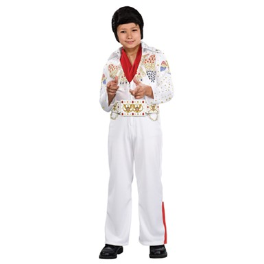 Elvis costumes celebrity costumes costume kingdom deluxe elvis presley jumpsuit kids costume solutioingenieria Image collections