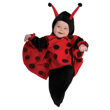 Deluxe Ladybug Baby Bunting Costume 0-6 months