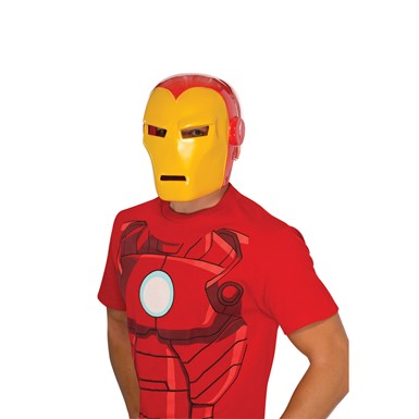 Deluxe Mens Iron Man 3 Halloween Mask