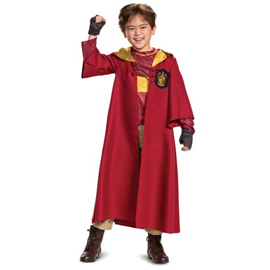 Deluxe Quidditch Gryffindor Child Harry Potter Costume