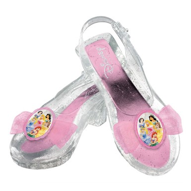 Disney Princess Pink Girls Shoes Set Costumes Accessory