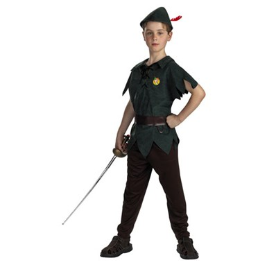 Disneys Peter Pan Child Halloween Costume