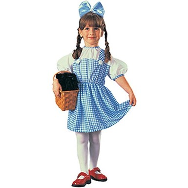 dorothy wizard of oz infanttoddler costume