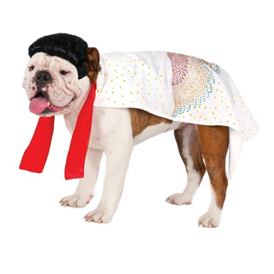 Elvis Cape Dog Pet Halloween Costume