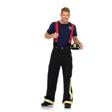 Fire Captain Mens Sexy Firefighter Halloween Costume