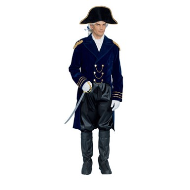 general colonial blue adult halloween costume