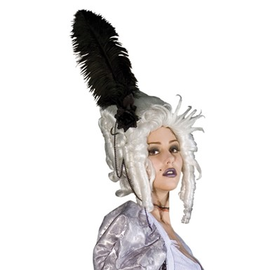 Ghost of Marie Antoinette Wig for Halloween Costume