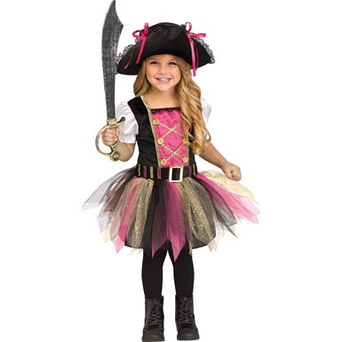 Girls Captain Cutie Toddler Halloween Costume