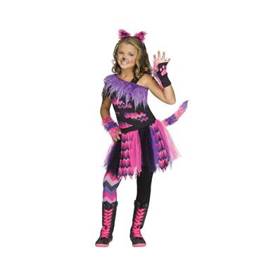 Girls Cheshire Cat Alice in Wonderland Costume  sc 1 st  Costume Kingdom & Girls Cheshire Cat Costume - Alice in Wonderland Costumes - Cat ...