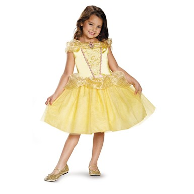 Girls Classic Belle Disney Princess Costume