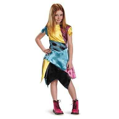 Girls Classic Sally Nightmare Before Xmas Costume