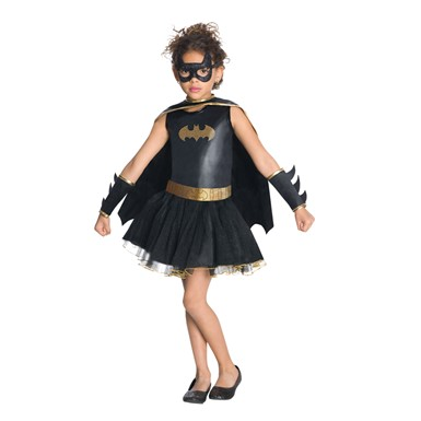 Girls DC Batgirl Tutu Halloween Costume
