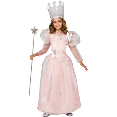 Girls Deluxe Oz Glinda Movie Halloween Costume