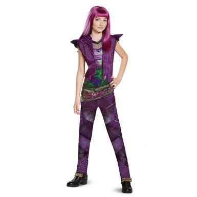 Girls Descendants Classic Mal Isle Look Costume