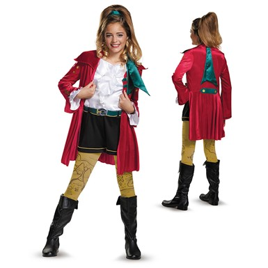 Girls Descendants Deluxe CJ Hook Costume