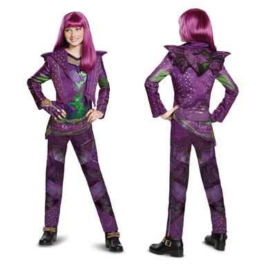 Girls Descendants Deluxe Mal Isle Look Costume
