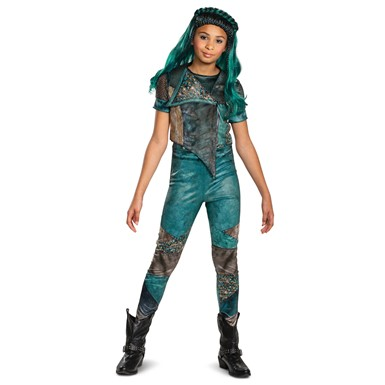 Girls Descendants Uma Classic Disney Costume