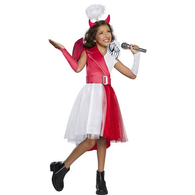 Girls Diabla A Costume Halloween Costume