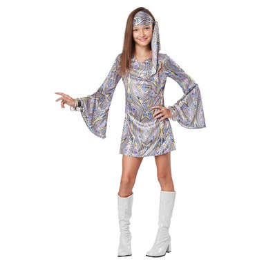 Girls Disco Darling Halloween Costume