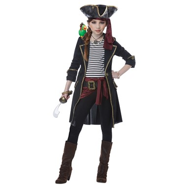 Girls High Seas Captain Halloween Costume