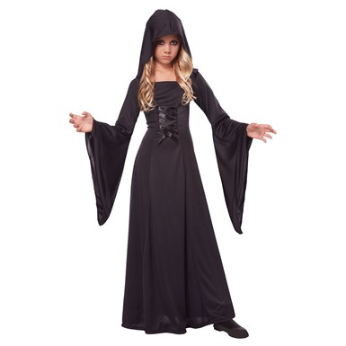 Girls Hooded Robe Halloween Costume