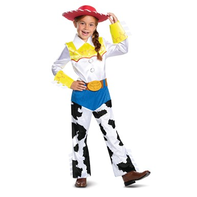 Girls Jessie Deluxe Toy Story Costume
