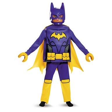 Girls LEGO Batgirl Movie Deluxe Halloween Costume