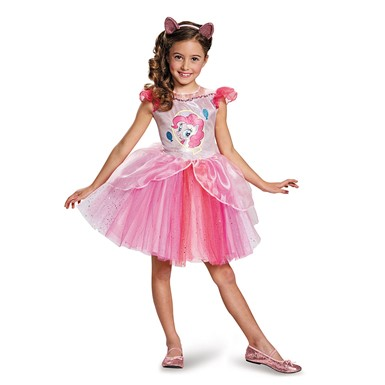 Girls My Little Pony Deluxe Pinkie Pie Tutu Costume