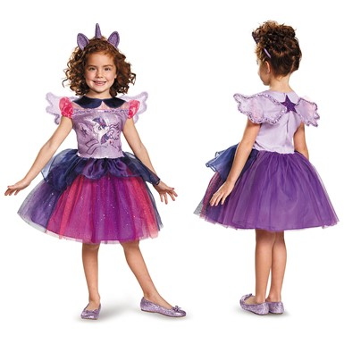 Girls My Little Pony Deluxe Twilight Sparkle Tutu Costume