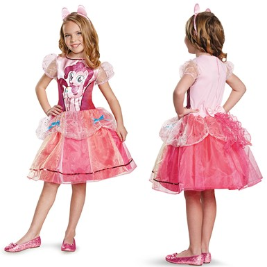 Girls My Little Pony Pinkie Pie Deluxe Costume