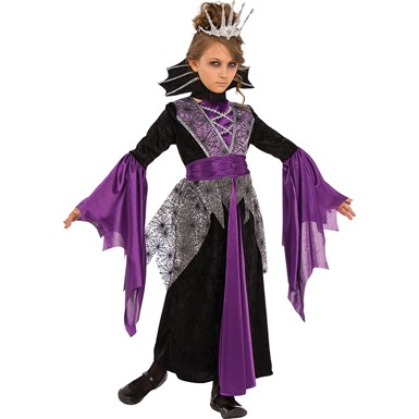 Girls Queen Vampire Halloween Costume