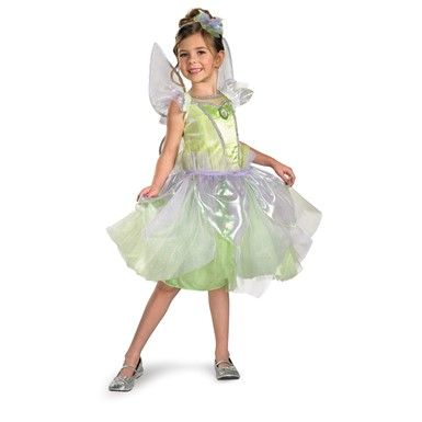 Girls Tinker Bell Tutu Prestige Disney Halloween Costume