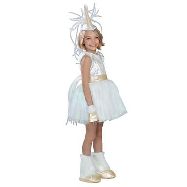 Girls White Unicorn Halloween Costume  sc 1 st  Costume Kingdom & Girls White Unicorn Costume u2013 Child Animal Halloween Costumes