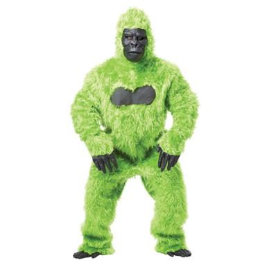 Green Gorilla Suit Ape Adult Halloween Costume  sc 1 st  Costume Kingdom & Green Gorilla Costume - Mens Halloween Costumes